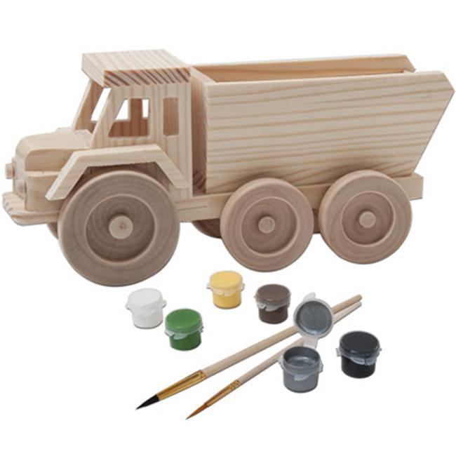 MasterPieces Puzzle Company 21010 John Deere Wood Paint Kit - Dump Truck