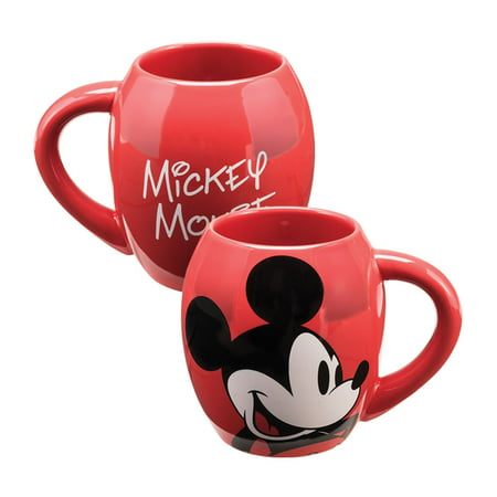Disney Mickey Mouse 18 oz  Oval Ceramic Mug
