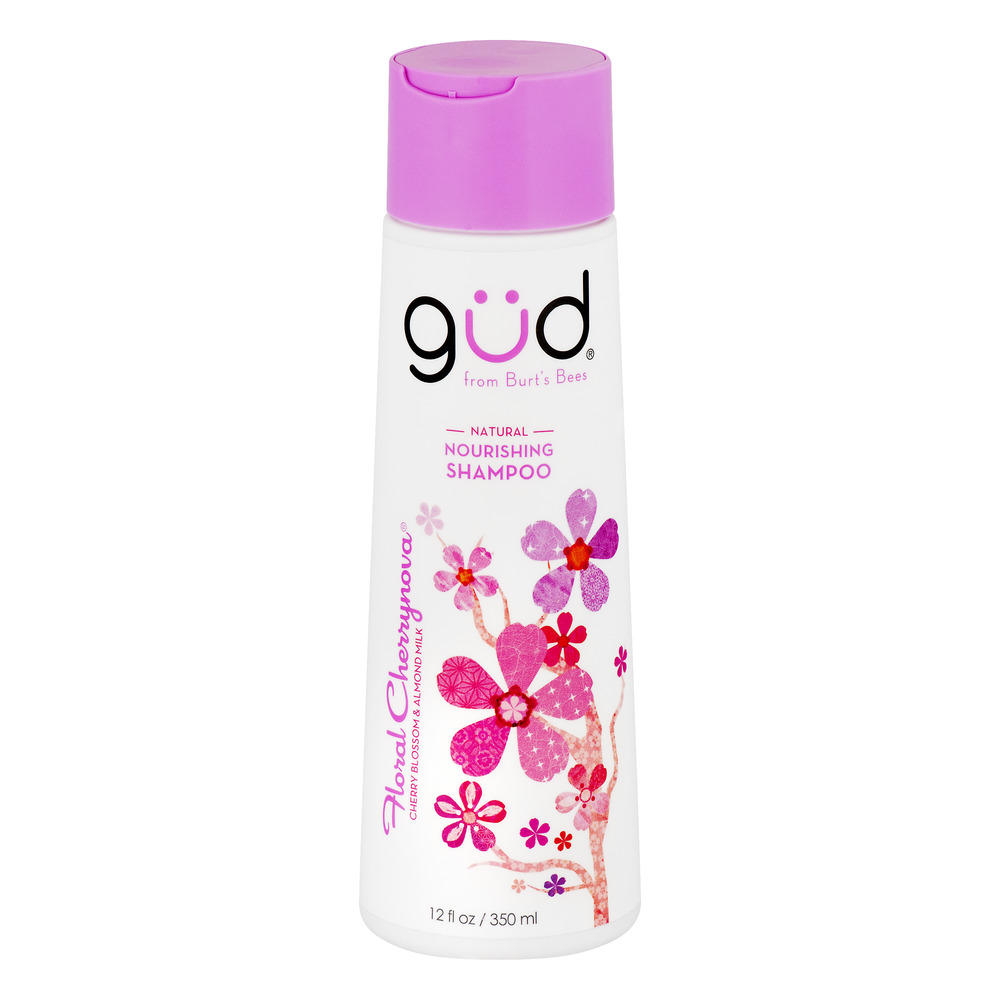 Gud Natural Nourishing Shampoo Floral Cherrynova, 12.0 FL OZ