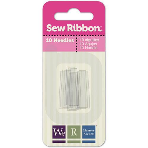 Sew Ribbon Needles 10/Pkg-