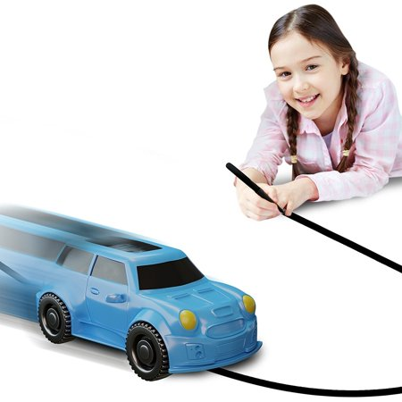 Nylea Magic Inductive Car Truck Follows Black Line Magic Toy Car For Kids & Children Best Mini Magic Pen Inductive Fangle