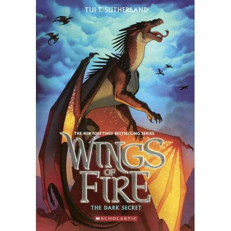 Wings of Fire: The Dark Secret (Hardcover) - Periwinkle Secret Of The Wings