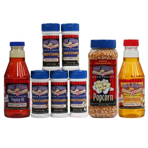 Great Northern Popcorn Theater Popping Kit Deluxe-Gourmet Popping Set