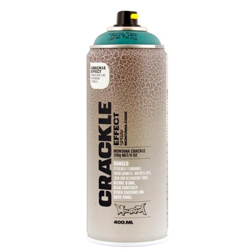 Montana Cans Crackle Effect Spray Paint 11 oz (400ml) Patina Green - 1 Can