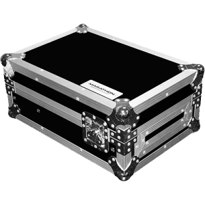 12-in DJ MIXER CASE + LAPTOP SHELF FITS LARGE FORMAT 12-in SIZE MIXERS SUCH AS PIONEER... by Six Star