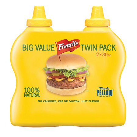 Frenchs Yellow Mustard - Product of French's Yellow Mustard, 2 pk./30 oz. [Biz Discount]
