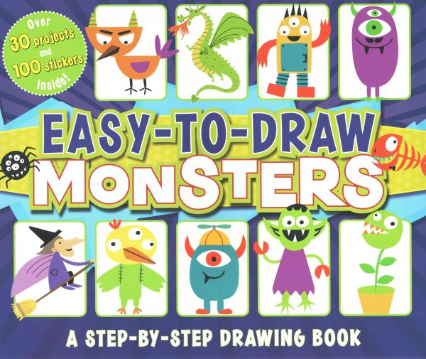 Easy-To-Draw Monsters : A Step-By-Step Drawing Book by Capstone