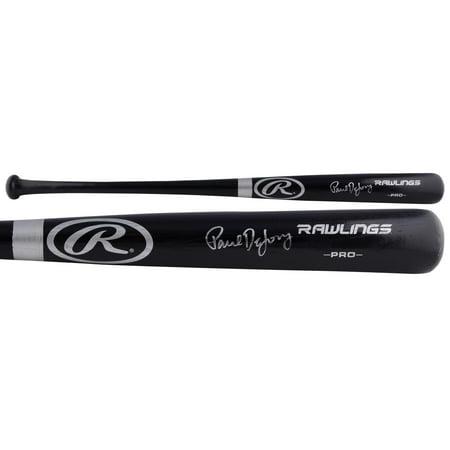 Rawlings St Louis - Paul DeJong St. Louis Cardinals Autographed Rawlings Pro Black Bat - Fanatics Authentic Certified