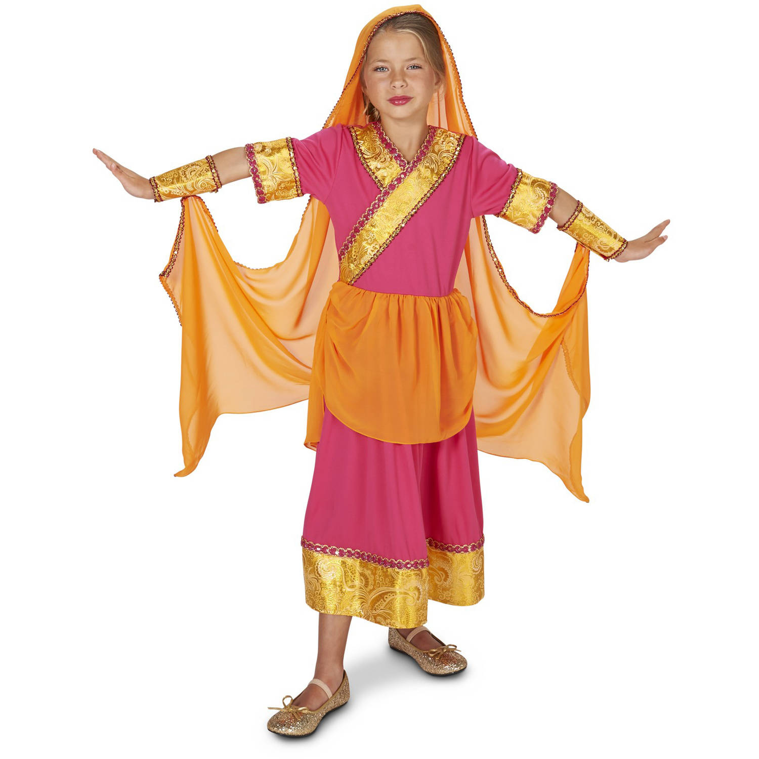 Bollywood Star GIrl Child Halloween Costume