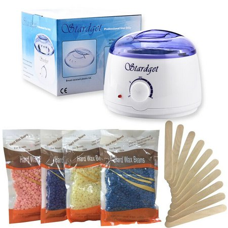 Tagital Wax Warmer Hair Removal Kit with Hard Wax Beans and Wax Applicator