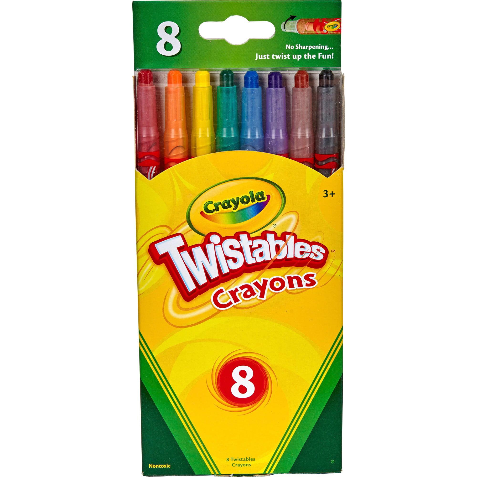 Crayola Twistables Crayons 8 CT by Crayola, LLC