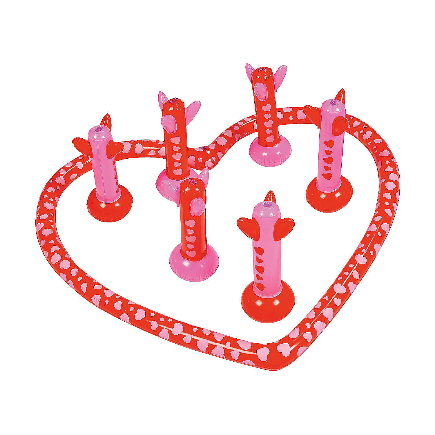 IN-13816974 Inflatable Valentine Arrow Game By Fun Express