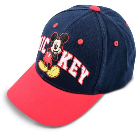 Disney Baseball (Disney Mickey Mouse Cotton Baseball Cap, Little Boys, Age)