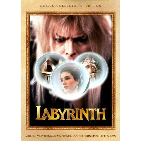 Labyrinth POSTER Movie D Mini Promo - Labyrinthe Halloween