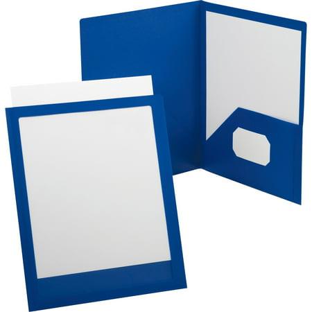 Oxford, OXF57441, Viewfolio Presentation Folders, 1 Each, (Durable Clear View Folder)