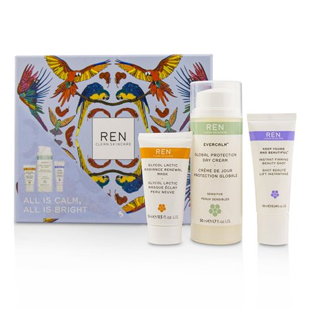 10ml Mask (Ren All Is Calm All Is Bright Set:  Day Cream 50ml + Mask 15ml + Firming Gel-Serum 10ml 3pcs)