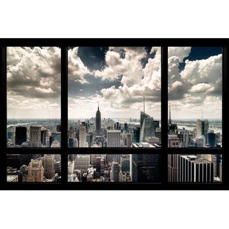 New York Window Poster - 36x24 (Soho-shopping New York)