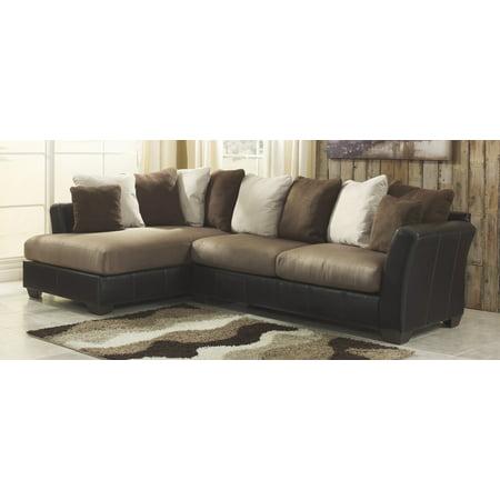 Wondrous Benchcraft 14201 67 16 Masoli Two Toned Sectional Sofa With Uwap Interior Chair Design Uwaporg