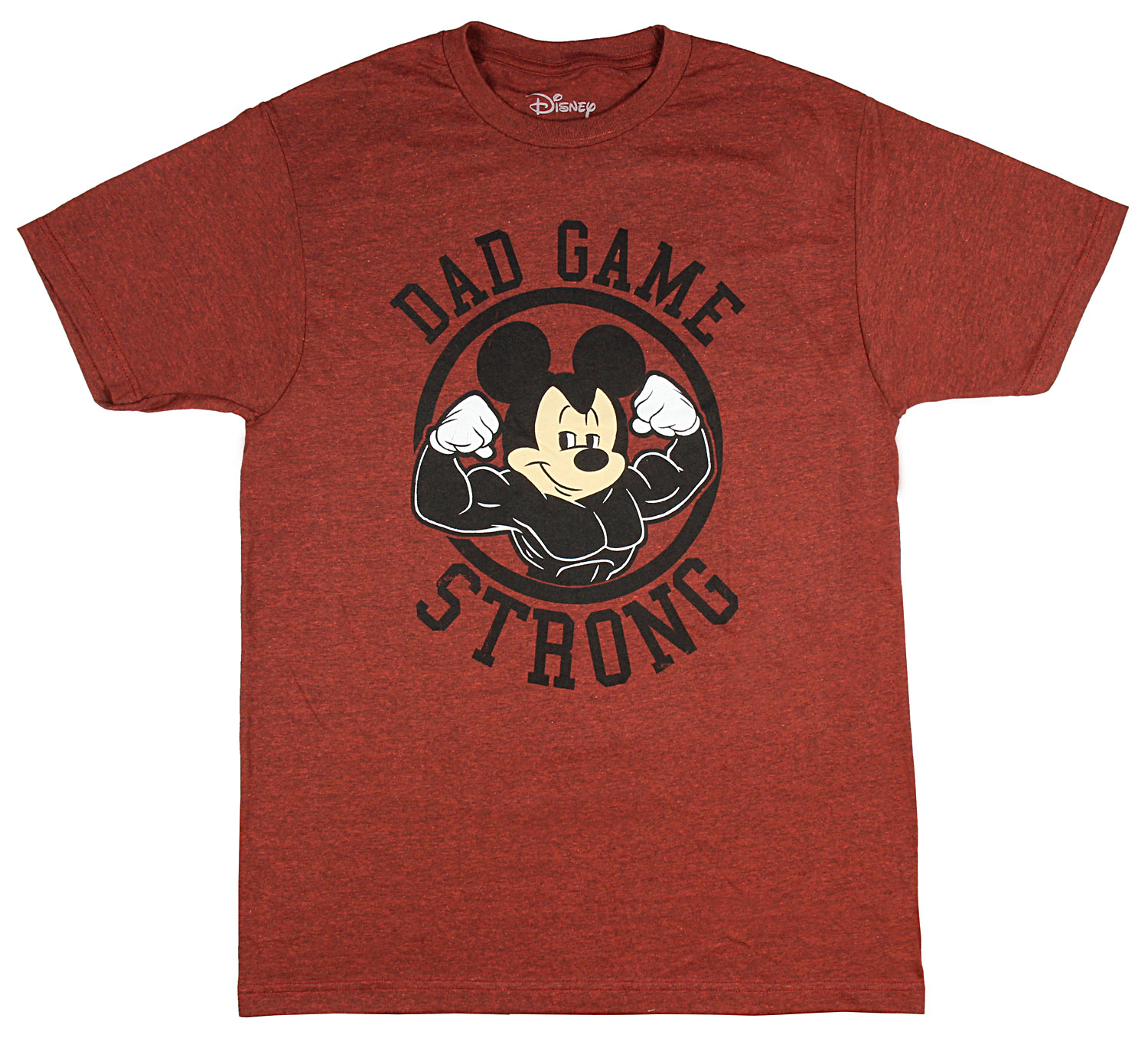 Disney Men's Mickey Mouse Dad Game Strong T-Shirt