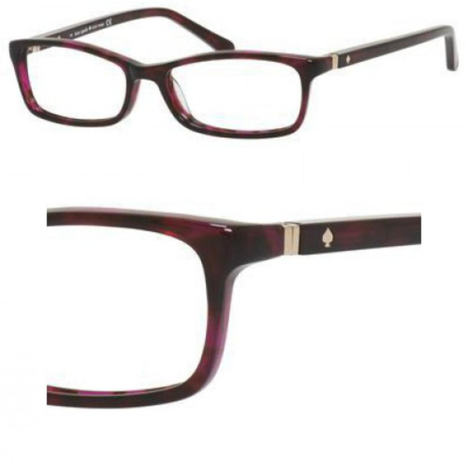 Eyeglasses Kate Spade Agneta Us 01G4 Pink Havana - Walmart.com