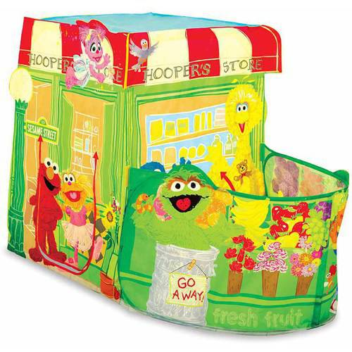 Playhut Sesame Street Hoopers Store Play Tent