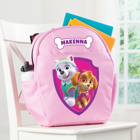 Personalized PAW Patrol Girl's Toddler Backpack