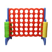 Giant Four-In-A-Row Oversized Game – Jumbo Outdoor Large Yard Game