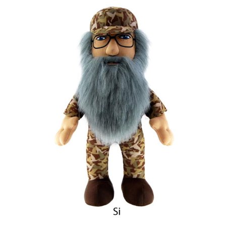 """Duck Dynasty 8"""" Plush With Sound Si - image 1 of 1"""