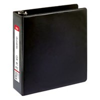 """OfficeMax Durable Reference Binders with Round Ring 3"""", Black"""