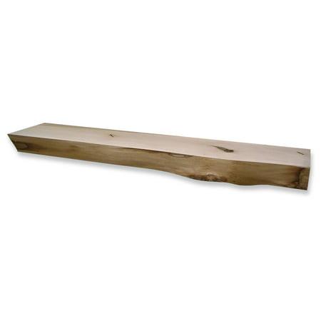 Kettle Moraine Hardwoods Read Rustic Fireplace Mantel Shelf - Rustic Mantel Decor