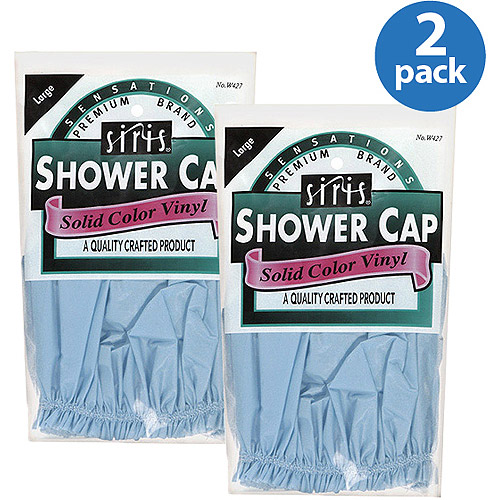 Sensations Large Shower Cap (Pack of 2)