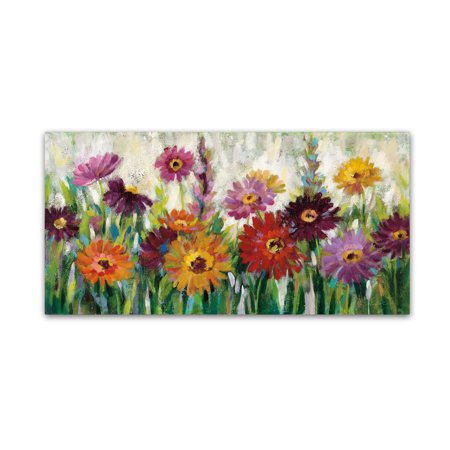 - Trademark Fine Art 'Jewel Daisy Gerbera' Canvas Art by Silvia Vassileva