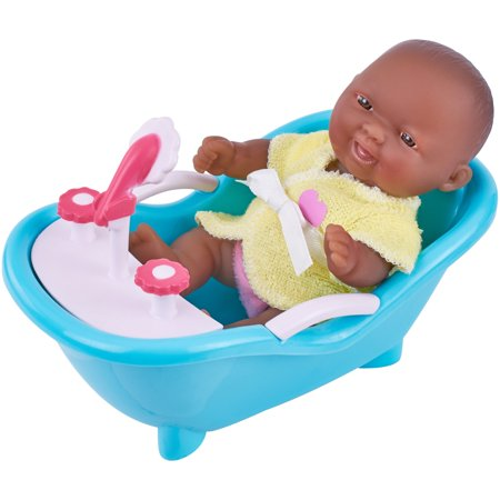 """My Sweet Love Lots to Love 5"""" Baby Doll with Outfit and Mini Bathtub"""