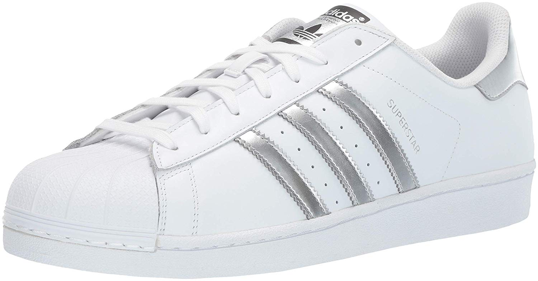adidas superstar ii metallic white/silver