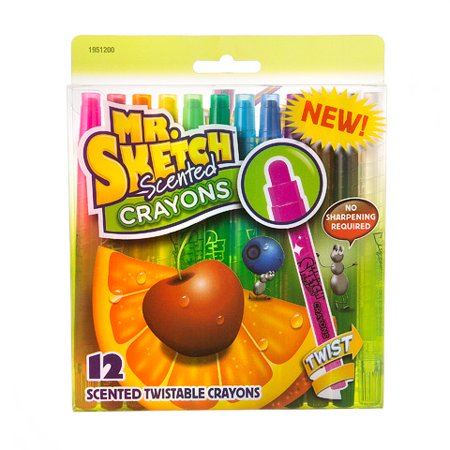 Mr. Sketch Scented Crayons: Twistable, 12 - Twistables Crayons