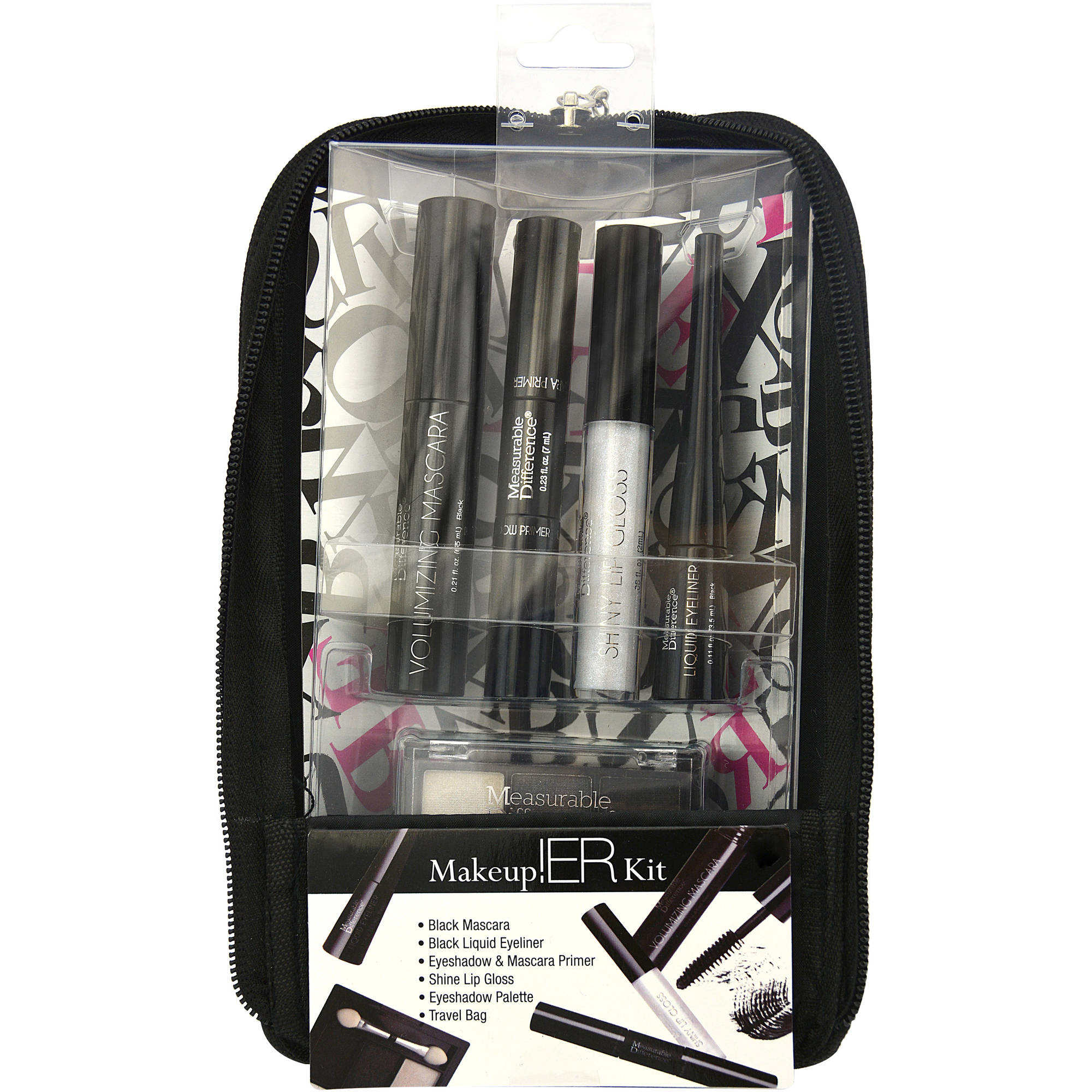 Measurable Difference Makeup!ER Kit, Black, 6 pc