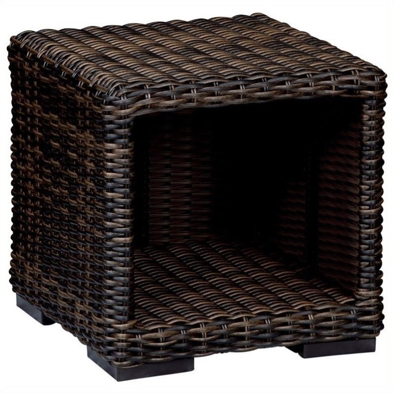 Sunset West Montecito End Table in Cognac