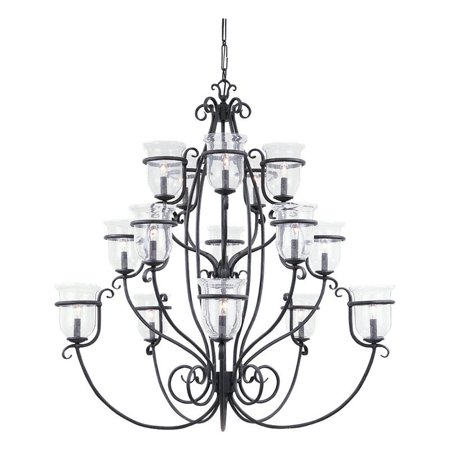 Sea Gull Lighting Manor House 3405 07 15 Light Chandelier 47 75 Diam