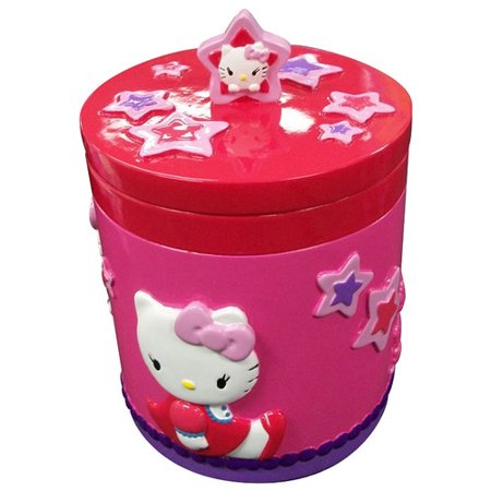 Hello Kitty Covered Jar, 1 Each