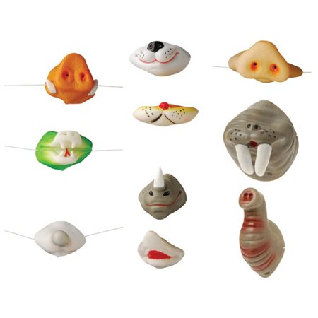 Animal Noses ((Price/12 Pieces)US TOY 5045 Assorted Animal)