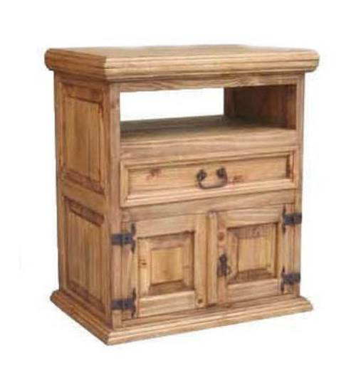 24 in. TV Stand w Swivel Top