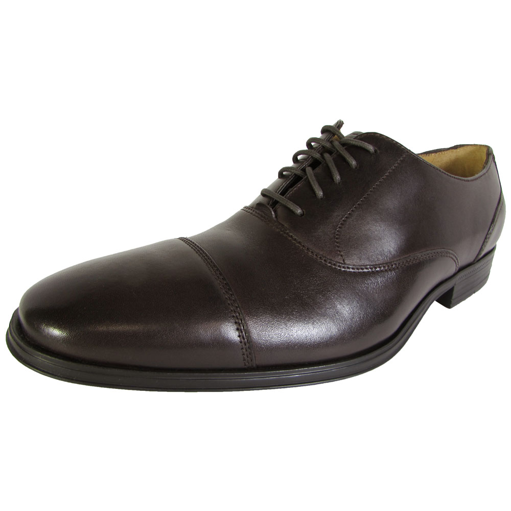 Cole Haan Brown Leather Saddle Broque Oxford Dress Shoes Mens 12 D Style C10509 for sale online