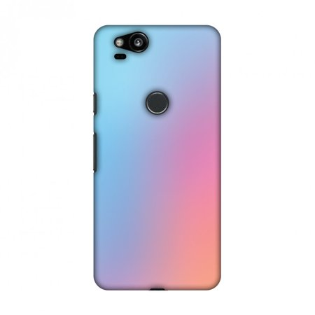 Google Pixel 2 Case,Hard Shell Protective Designer Case with Screen Cleaning Kit for Google Pixel 2 -Blue Gradient