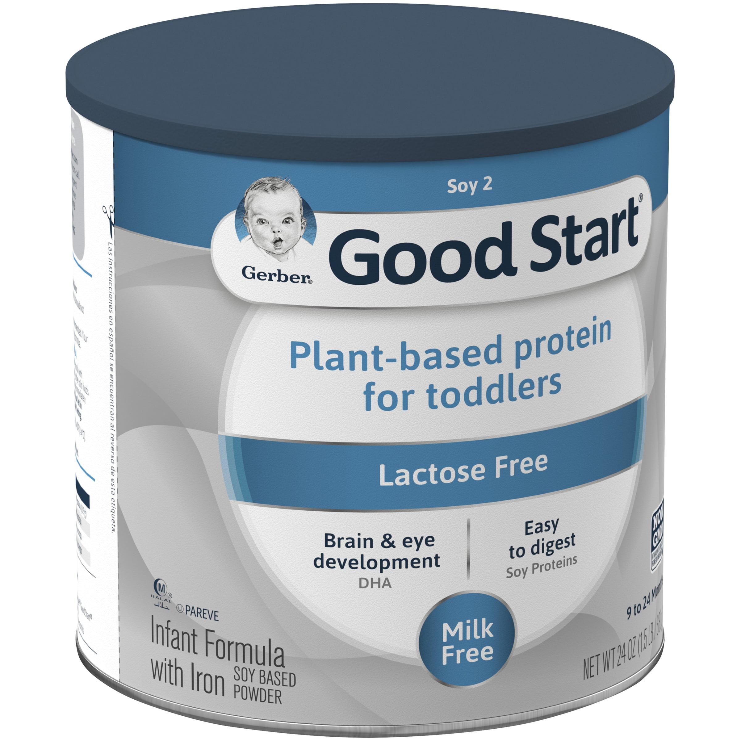 Gerber Good Start Soy Non Gmo Powder Infant And Toddler Formula Stage 2 24 Oz Walmart Com Walmart Com
