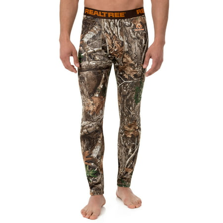 Men's Camo Heavyweight Fleece Thermal Underwear