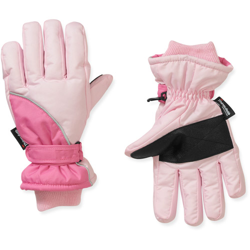 Faded Glory Girl's Color-block Ski Glove
