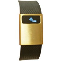 Funktional Wearables BASICCOVER-BRGLD Basic Cover For Fitbit Charge/Charge HR (Brushed Gold)