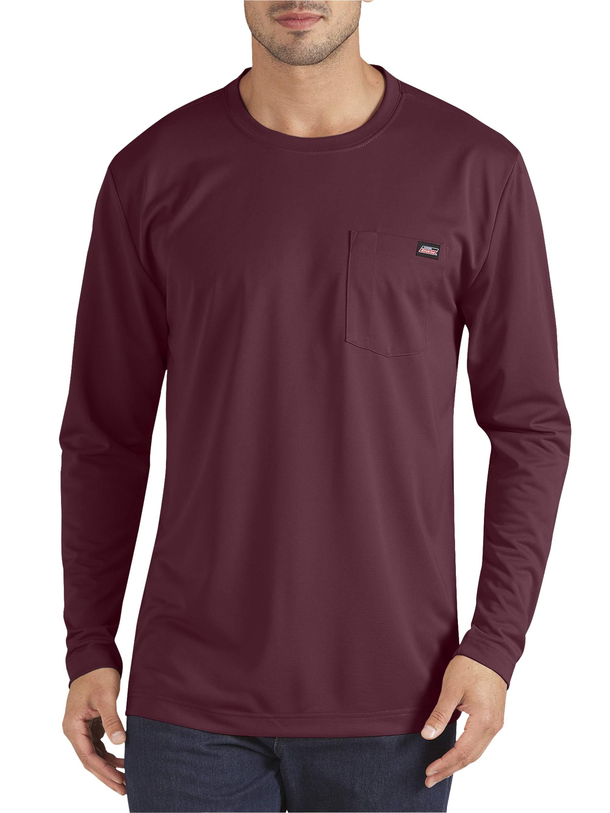 Men's Long Sleeve Performance Pocket T-Shirt