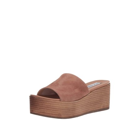 d2a9a35d0db03 Steve Madden - Steve Madden Heated Women's Open Toe Platform Wedge Sandals  - Walmart.com