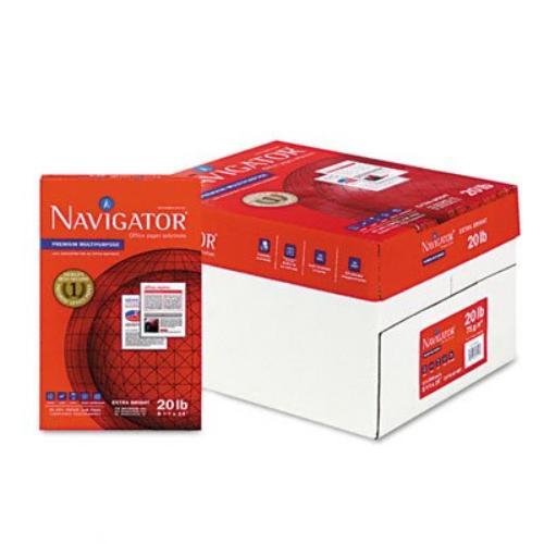 "Soporcel Navigator Premium Multipurpose Paper - Legal - 8.50"" X 14"" - 20 Lb - 97 Brightness - 10 / Carton - White (nmp1420_35)"